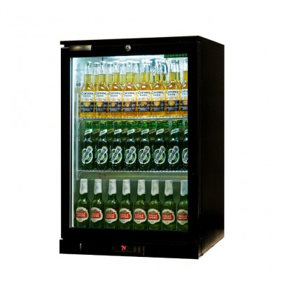 Genfrost GBB1H Single Door Bottle Cooler Black
